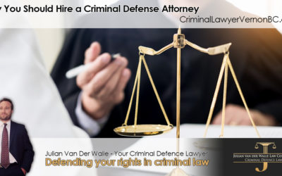 Why You Should Hire a Vernon Criminal Defense Attorney